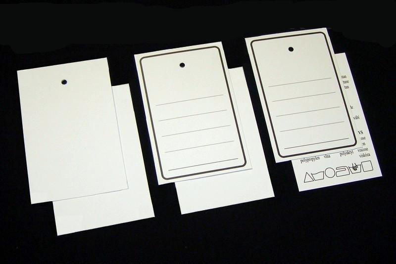Papierové visačky aplikácia 10
