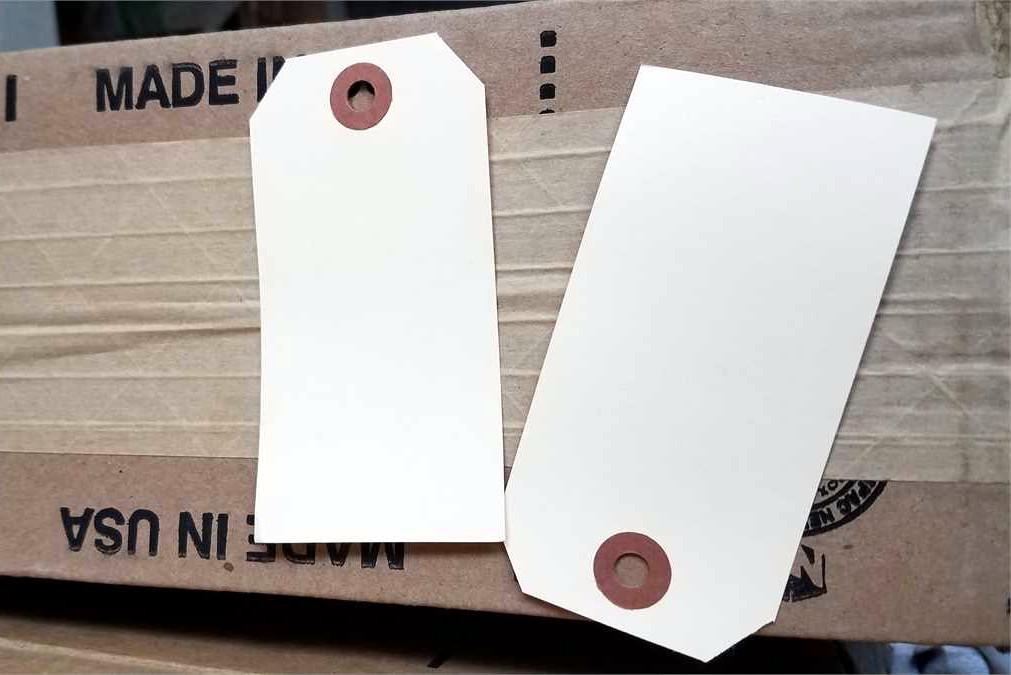 Papierové visačky aplikácia 4